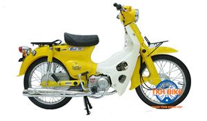 Xe Cub 79 Thailand cao cấp màu vàng