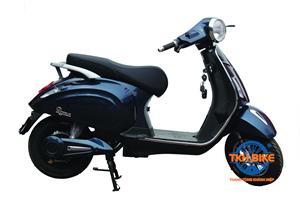 Xe máy điện DK ROMA 60V màu xanh cửu long