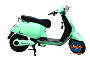 Xe máy điện DK ROMA 60V màu xanh ngọc