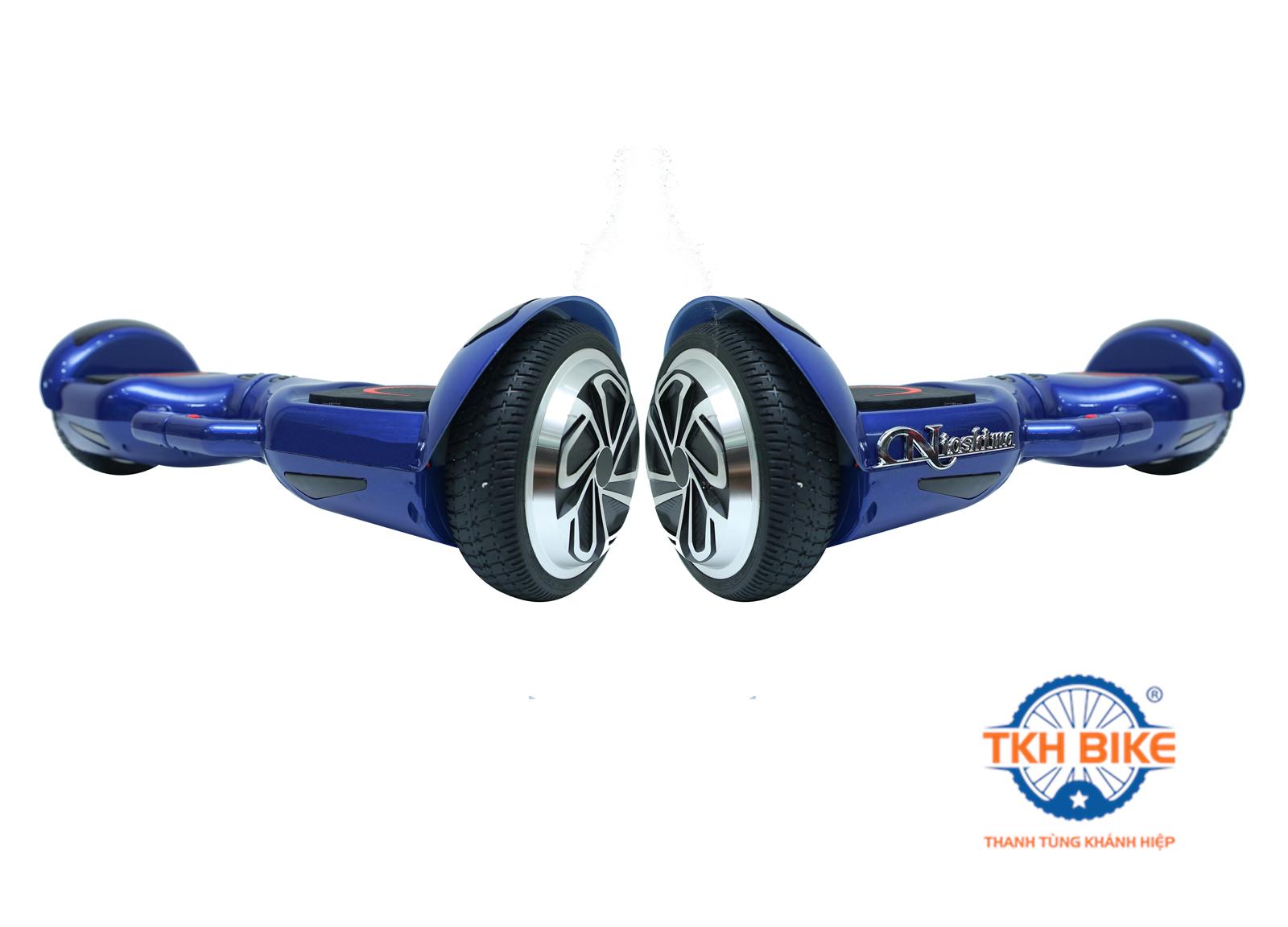 Xe điện cân bằng 2 bánh Nioshima 0180 có tay xách 2017- Xanh