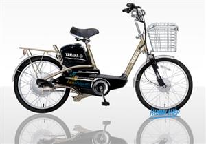 Xe đạp điện Yamaha Icat N2 vàng