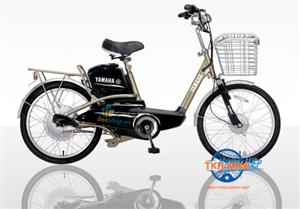 Xe đạp điện Yamaha Icats N2 vàng
