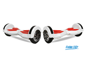 Xe điện thông minh R8 2016 (Bluetooth) trắng